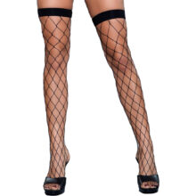 Caught In My Trap Thigh High Stockings
