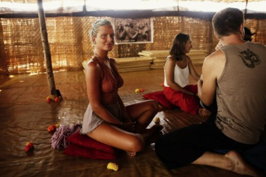 Maxinne Bjärlk på yoni massage