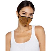 Alexi Rhinestone Face Mask