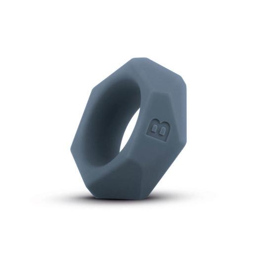 Diamond Cock Ring - Grey