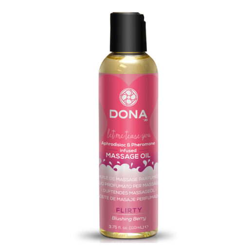 Scented Massage Oil Blushing Berry
