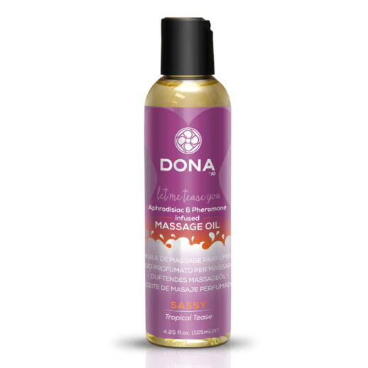 Scented Massage Oil Tropical Tease