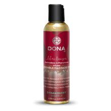 Kissable Massage Oil Strawberry Soufflé