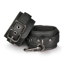 Easytoys Black Leather Handcuffs