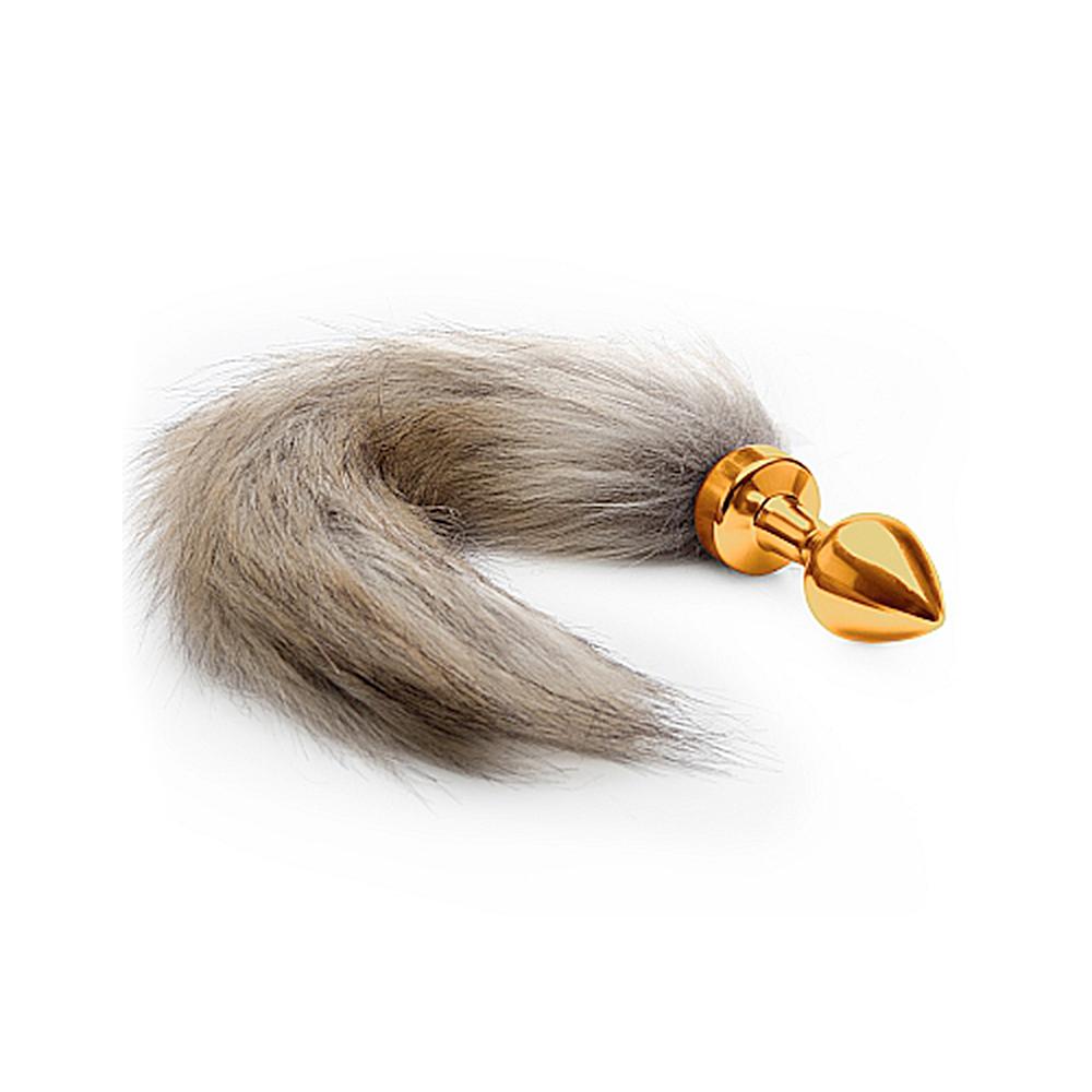 Fox Tail Plug Guld