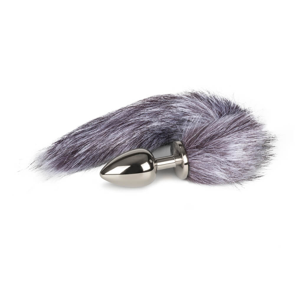 Fox Tail Plug No. 4 Silver