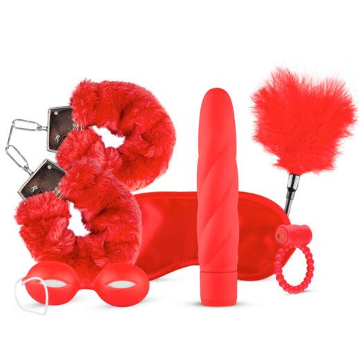 I Love Red Gift Box är en box med sköna erotiska produkter för par