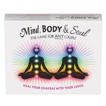 Bild på ett spel för dig och din partner.Products. Mind, Body & Soul Game.