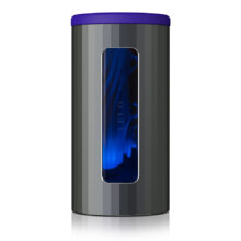Bild på masturbator svart och blå färg från Lelo. LELO F1S V2 Blå.