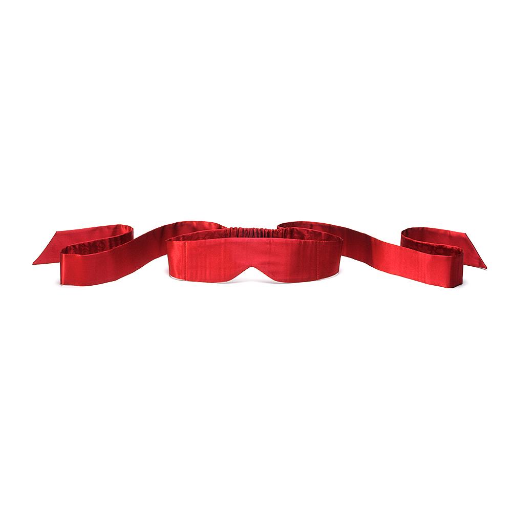 Intima Silk Blindfold - Röd