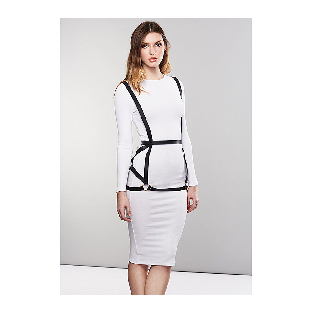 Maze Arrow Dress Harness Svart
