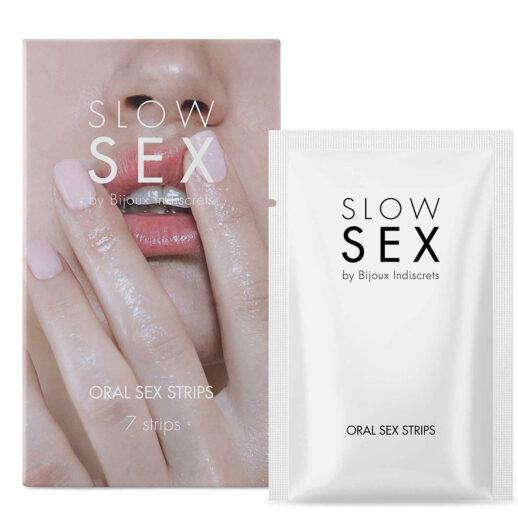 Oral Sex Strips stoppar du i munnen innan oralsex.