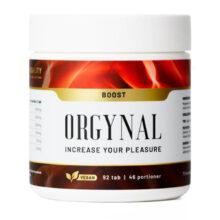 Bild på Boost kosttillskott från Orgynal.