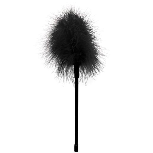 Bild på en svart fjäder. Ouch feather black.