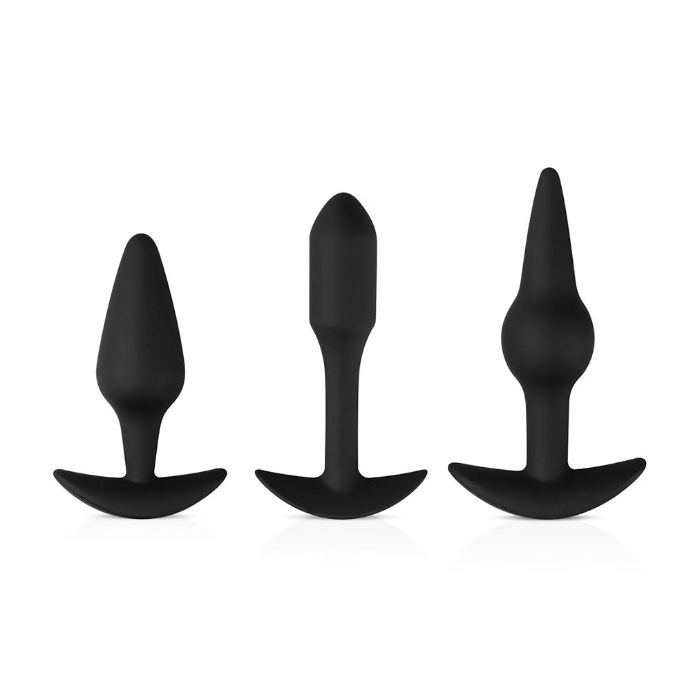 Pleasure Kit Analpluggar 3-pack