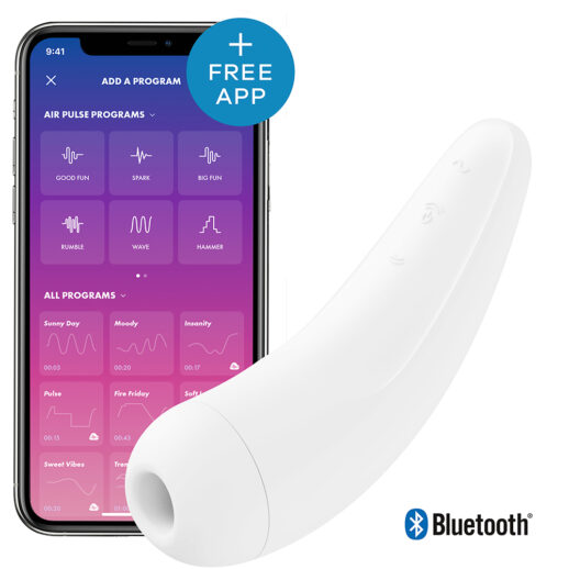 Satisfyer Curvy 2+ Air Pulse Stimulator Vit