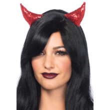Sequin Devil Horns