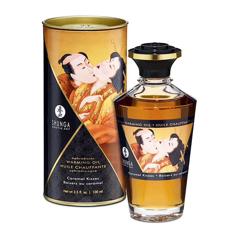 Shunga Aphrodisiac Oils Caramel Kisses