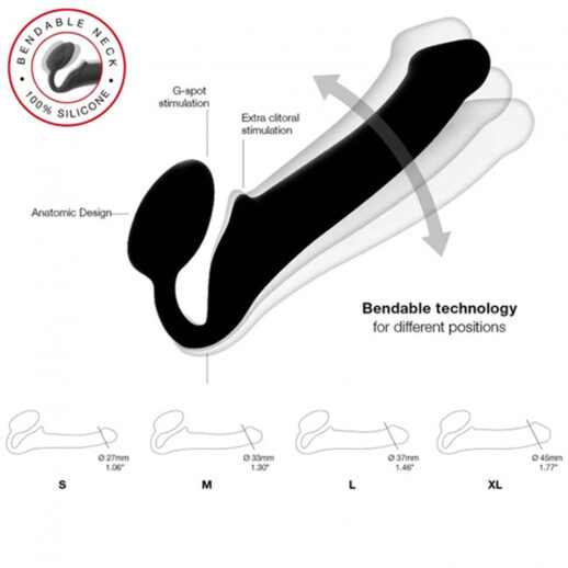 Strap-on-me Bendable Strap-On