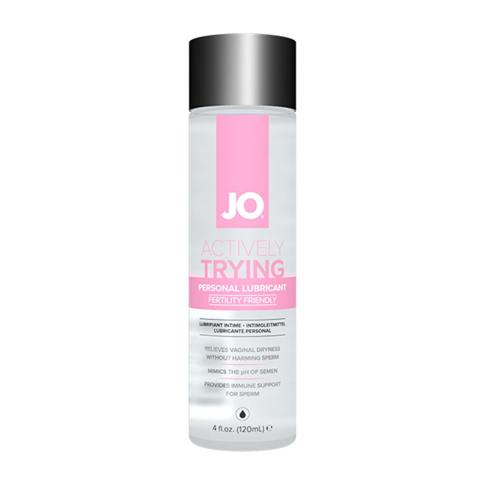 System JO Actively Trying - Fertilitetsvänligt Glidmedel