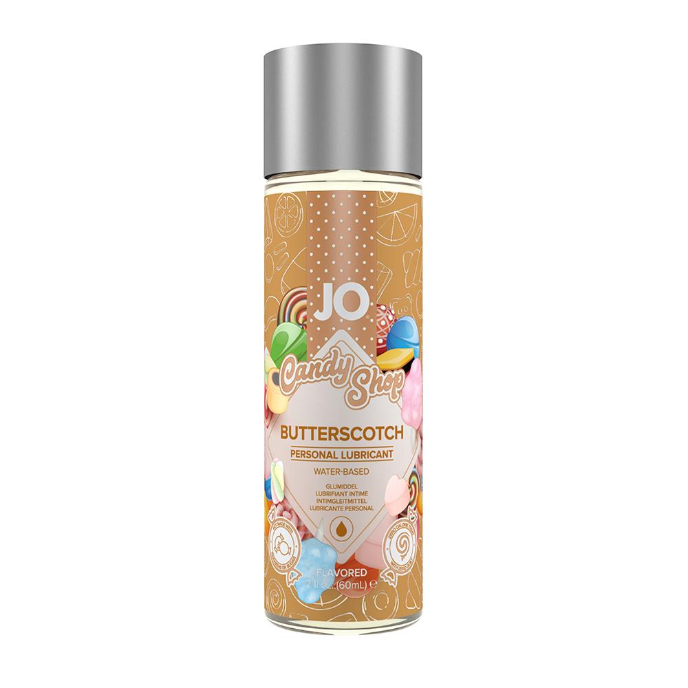 System JO Candy Shop H2O Butterscotch Vattenbaserat Glidmedel