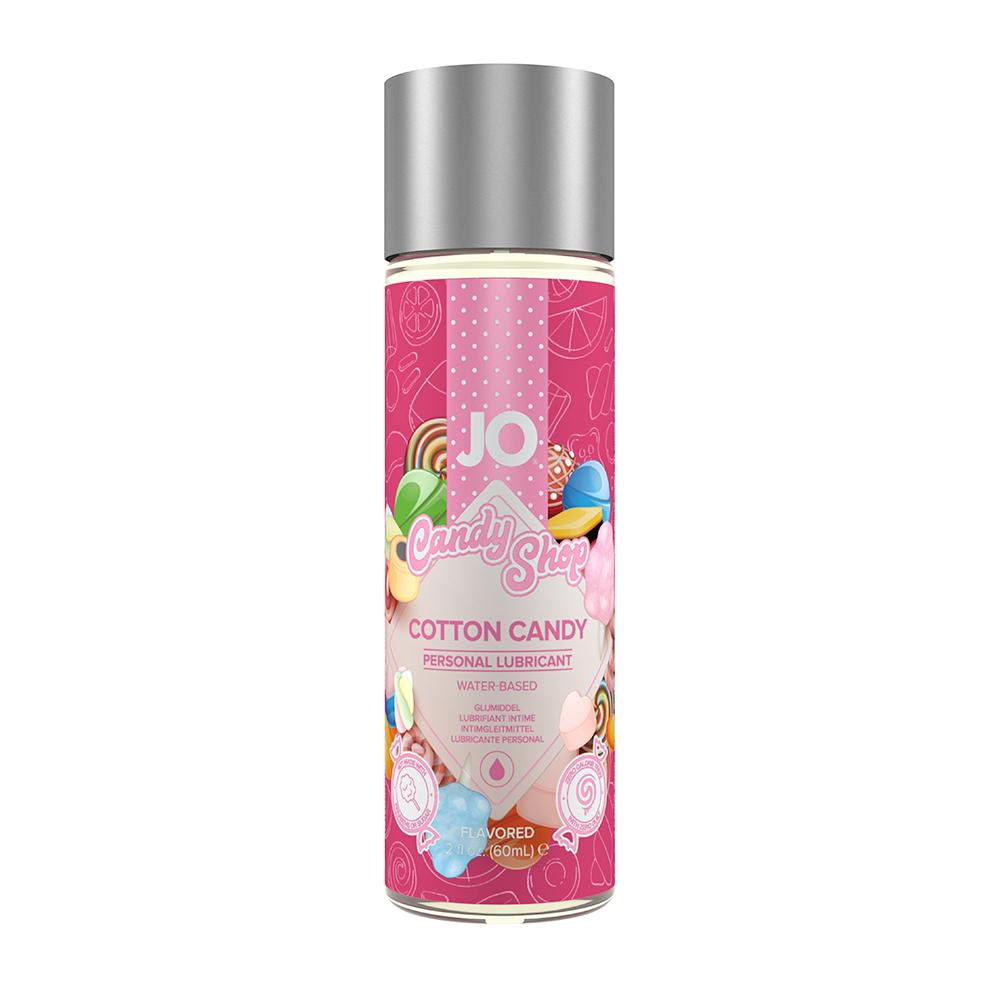 System JO Candy Shop H2O Cotton Candy Vattenbaserat Glidmedel