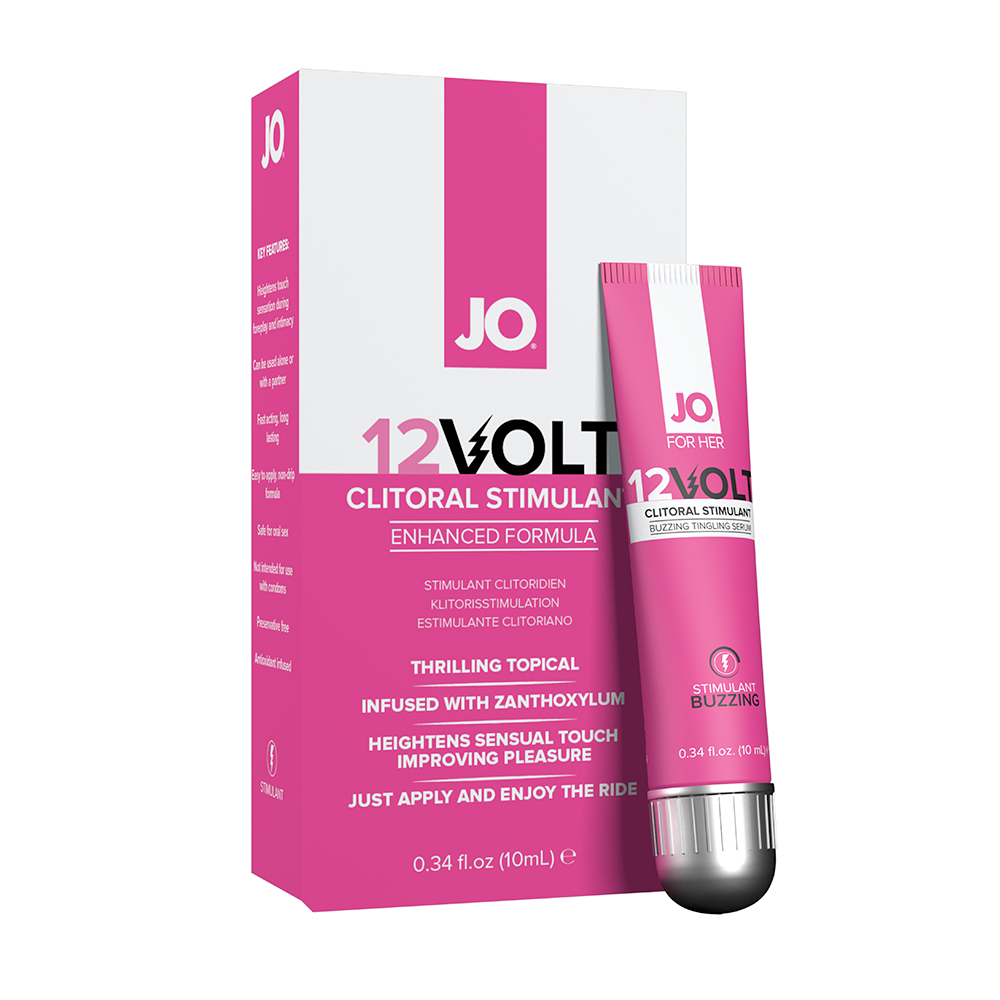 System JO Clitorial Serum Buzzing 12VOLT