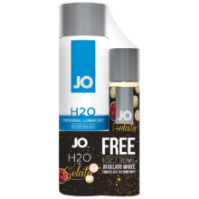 System JO H2O Lubricant 120 ml + Free Gelato White Chocolate Raspberry