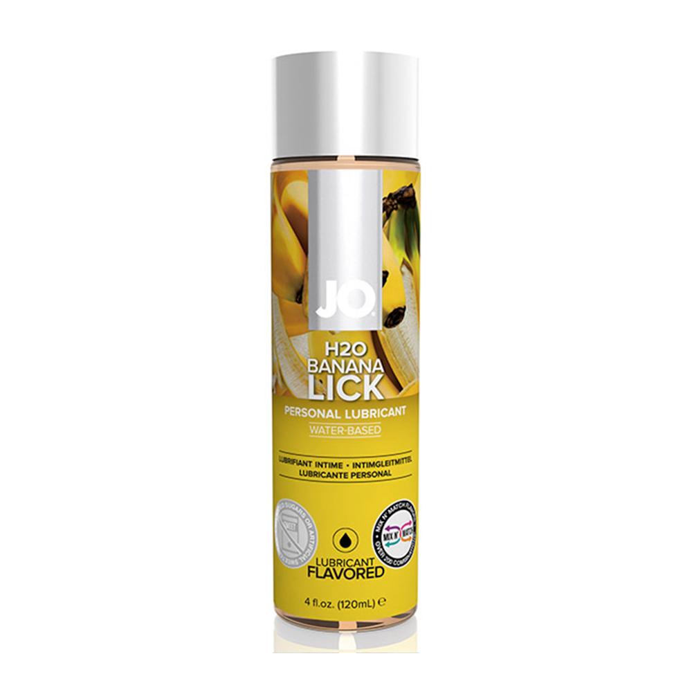 System JO - H2O Lubricant Banana Lick Vattenbaserat Glidmedel