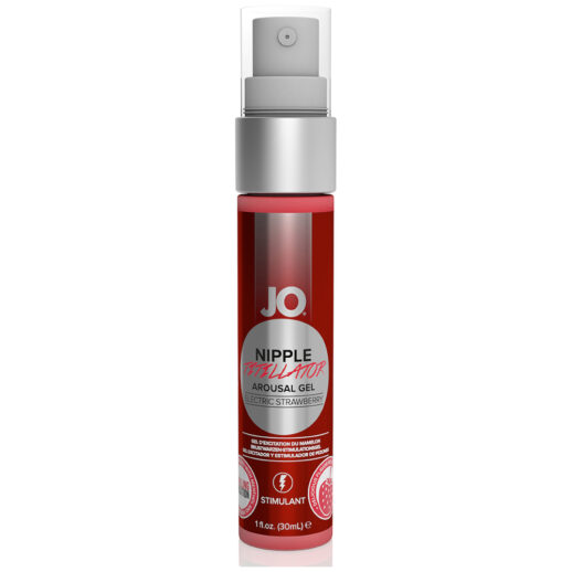 System JO Nipple Titillator Electric Strawberry