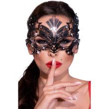 Chili Rose Mask 4325 är en mask i metall. Här på ett kvinnoansikte.