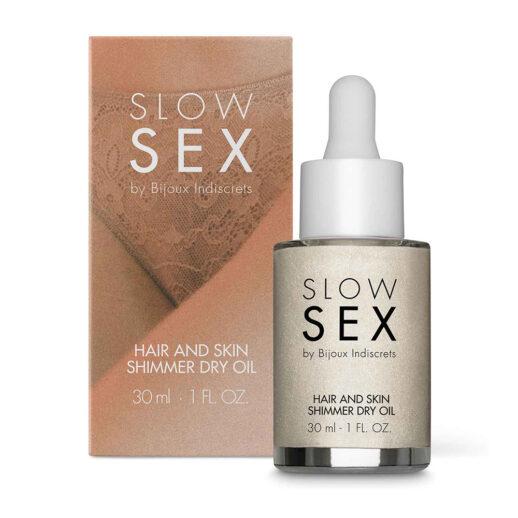 Hair And Skin Shimmer Dry Oil