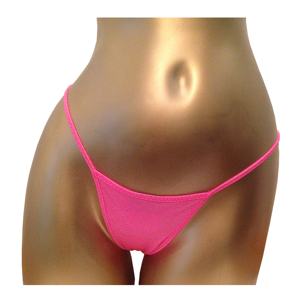 Y-String Hot Pink