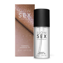 Warming Massage Oil - Slow Sex